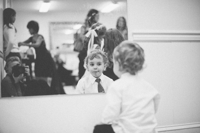 Ring bearer, getting ready, before ceremony, Birmingham Alabama