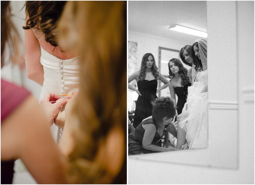 Wedding dress, Bride, getting ready, Birmingham Alabama