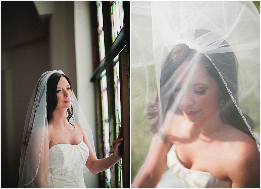 Third Presbyterian Church, Bridal Portrait, Birmingham Alabama
