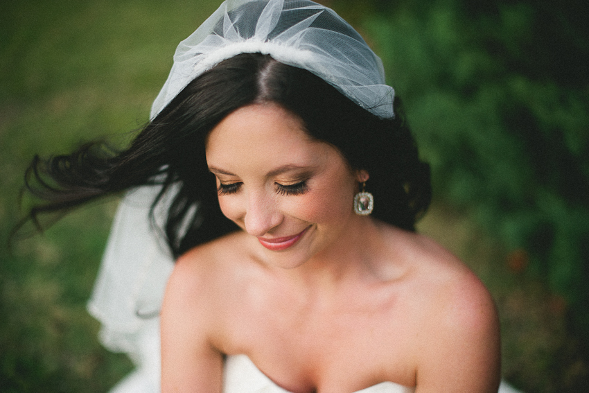 bridal portrait, Birmingham Alabama
