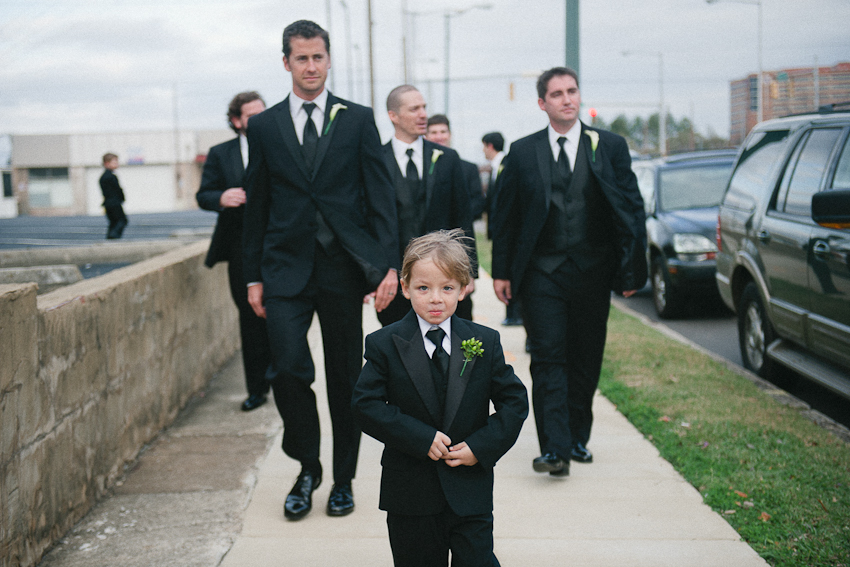 groomsmen, bridal party, Birmingham Alabama